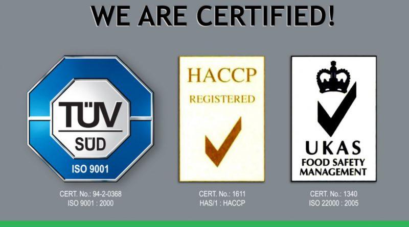 Zagro certification