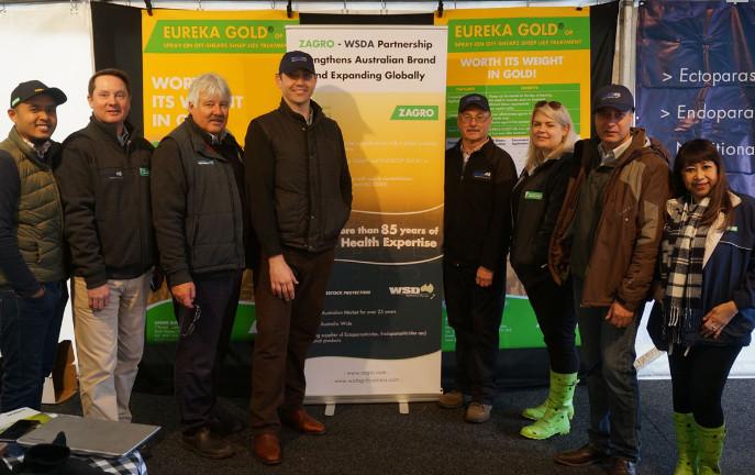 Eureka Gold Sheepvention Australia