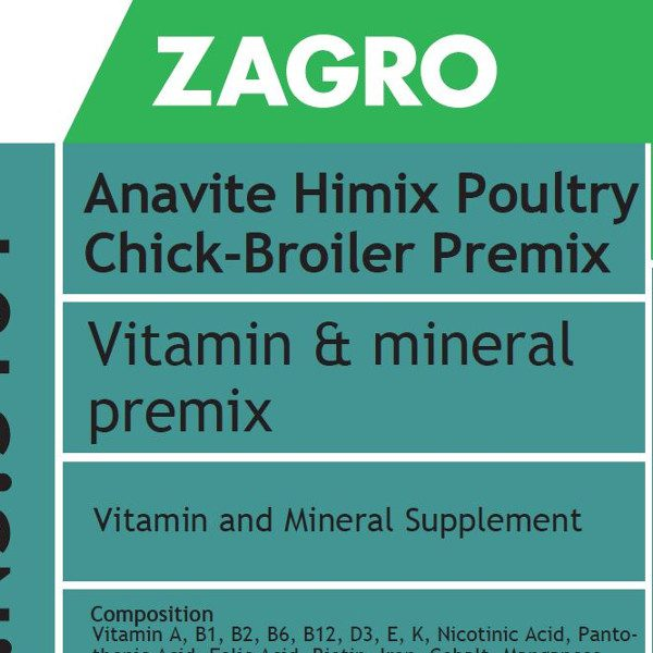 Anavite Himix Poultry Chick Broiler Premix