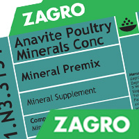 Anavite Poultry Minerals Conc